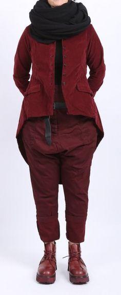 rundholz dip - Jacke in Frack-Optik barolo - Winter 2016 - stilecht - mode für frauen mit format...