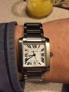 Cartier Francaise Automatic Men's Watch