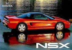 Honda NSX Australia Flyer 1993