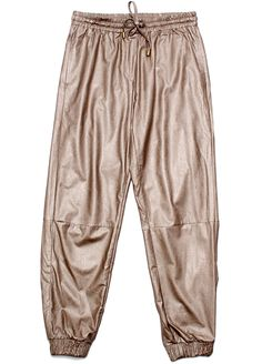 L:C Staff Faves | Shades of Grey Faux Leather Sweatpant
