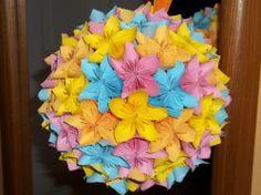 Kusudama flower ball-www.quilling.netstranky.cz