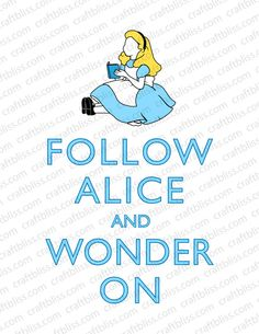 Alice in Wonderland Party and Decor Keep Calm and by craftbliss, $4.00