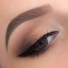 Stunning eye makeup