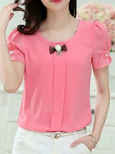 Frock Fashion, Fashion Dresses, Blouse Styles, Blouse Designs, Bluse Outfit, Sleeves Designs For Dresses, Trendy Tops, Mode Outfits, Stylish Dresses