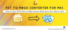 Digital Tweaks PST to Mailbox Converter Free is an absolute way to switch cross platform, convert #PST to #MBOX free entirely.