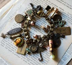 A charm bracelet from Renee Hong,