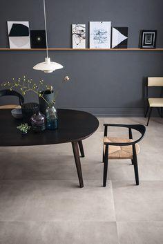 Full-body porcelain stoneware wall-floor tiles with concrete effect - Marazzi