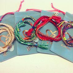 Wrap around bracelets from Ibiza!