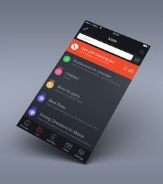 Centrallo apps for iPhone. iOS 7 Design