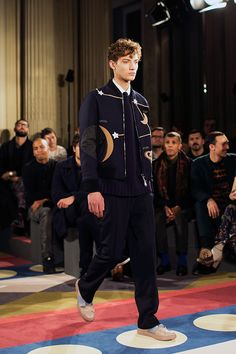 Reminds me of Gene Meyer. Valentino Fall/Winter 2015