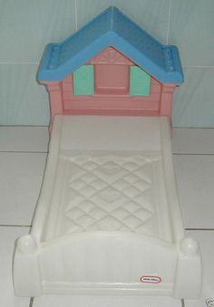 Little Tikes Twin Loft Play House Bed Rare Little Tikes