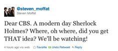 Moffat tweet!