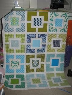 Garden Fence Quilt... like this one!