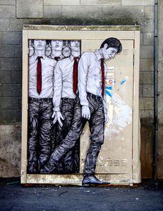 """Отличный пример """"дорисовки"""" город, граффити, дорисовка, Искусство, длиннопост"""