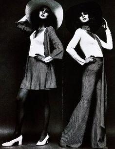 BARBARA HULANICKI BIBA was an iconic sixties London brand created by Barbara Hulanicki. It became a staple in the swinging London scene. Style icon Twiggy became a big Biba Barbara Hulanicki, Biba Fashion, London Fashion, Retro Fashion, Vintage Fashion, Sixties Fashion, Pop Fashion, Vogue Vintage, Look Vintage