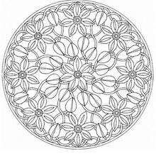 Mandala  67 - Coloring page - MANDALA coloring pages - Mandalas for EXPERTS