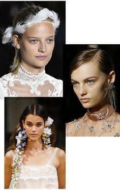 While Manhattan is experiencing the buzz of Bridal Fashion Week, take a look back at the hairstyles from Fashion Week Spring/Summer 2018 that are wedding perfection.
