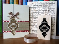 Neutral Ornament Keepsakes by angelfishcrafts - Cards and Paper Crafts at Splitcoaststampers