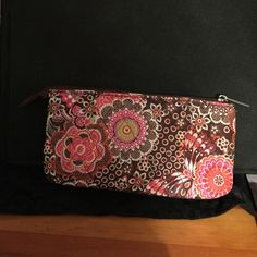 Travel Bag Perfect size travel bag/wallet with lots of compartments!! Never used! Studio C Bags Wallets