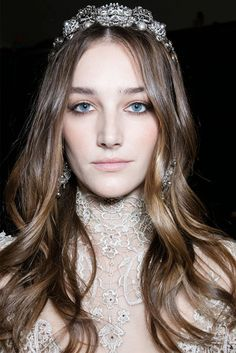 elie saab beauty look haute couture 2016