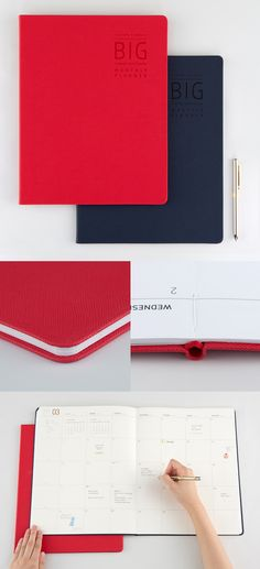 Keep track of your tasks and important plans! This is a big sized planner built with quality!