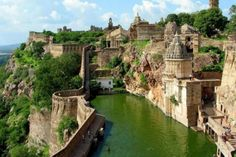 Chittaurgarh (Chittor) is located on the banks of river Gambhiri and Berach, in western India