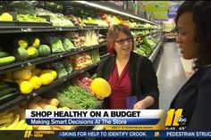 Want to eat better? Shop better! Top ten tips for smarter grocery shopping. Courtesy of ABC 11 News