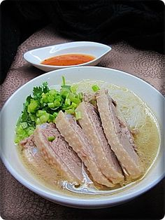 Taiwanese duck rice vermicelli