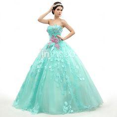 Vestido - Longo Baile - Sem Alça - BRL R$683.97