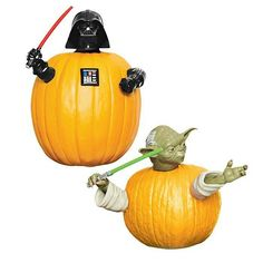 """INTO THE WOODS this season it's time to show some character...these kids are our pick of the patch! STAR WARS PUMPKIN PUSH-INS plastic, imported, parts vary: 3""""-5"""", ages 6 and up, Darth Vader and Yoda, $12.99 #AvonLiving #Starwars #Halloween #Campaign 20-23 Visit my online store @ www.youravon.com/amartinez8866"""