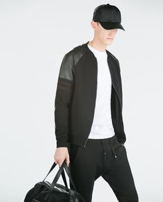 Image 2 of ZIP JACKET from Zara