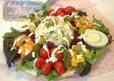 1000 images about recette de salade presentation de salade 2013 on pinterest ramadan. Black Bedroom Furniture Sets. Home Design Ideas
