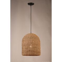 Natural rattan pendant from the allen roth collection offers an on-trend earthy appeal. Mounting hardware included for installation. Bedside Pendant Lights, Wicker Pendant Light, Outdoor Pendant Lighting, Basket Lighting, Outdoor Hanging Lights, Kitchen Pendant Lighting, Mini Pendant Lights, Ikea Light Fixture, Cool Light Fixtures