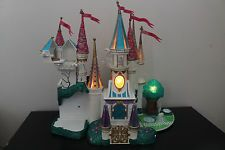 Disney Beauty and the Beast Castle (Trendmasters, 1998) Polly Pocket / Lights Up