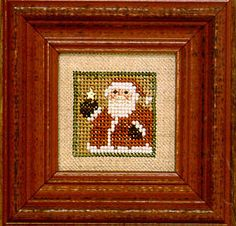 Littles - Santa - Cross Stitch Pattern