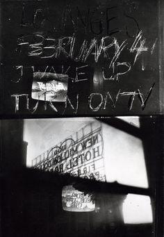 Wake up turn on tv, 1979, Robert Frank                                                                                                                                                                                 More