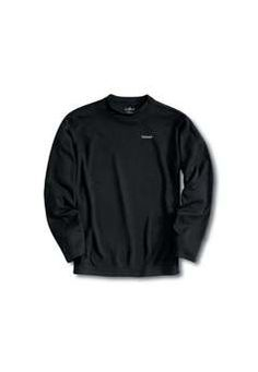 $46.99 Carhartt Mens K207 Work Dry Midweight Thermal Crew Neck Top - Black| http://camouflage.ca