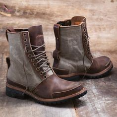 6cdc7a71cff3 Timberland bottes tackhead company gyw boot bottes montantes pour homme -  Marron - Dunkelbraun   Oliv