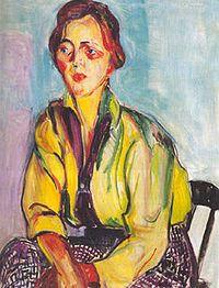 A estudante (1915-1916), de Anita Malfatti. Acervo do Museu de Arte de São Paulo.