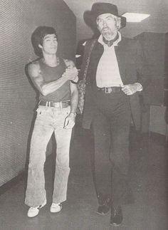 Bruce lee & James Coburn