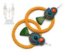 Sutasz-Anka: Amon- Re 2 - earrings http://www.soutage.com/2013/01/amon-re-2-kolczyki.html