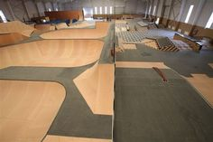 Woodward skatecamp has been expanding their facilities into China's second largest city, and just finished building the park at Woodward Beijing. Transworld Skateboarding, Bike Parking, Skate Park, Bmx, Beijing, Game Room, Community, City, Home Decor