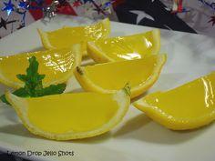 Comfy Cuisine: Lemon Drop Jello Shots