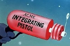 ACME Integrating Pistol...for all your best laid plans.