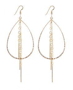 Wild Belle Earrings - Gold