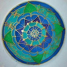Mandala art, Love begins with me mandala, Throat Chakra Mandala, meditation art, new age, metaphysical, yoga art,spiritual art, $34.00