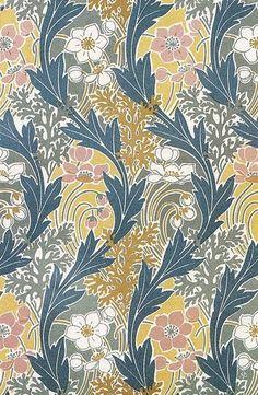 The Textile Blog: Rene Beauclair and Art Nouveau Design