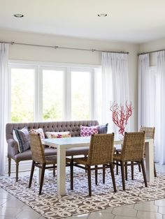 Exotic Dining Room | Photo Gallery: Sophisticated Suburban Home | House & Home | photo Donna Griffith