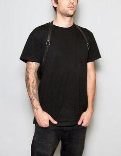 Men's Simple Leather Harness by JAKIMACSHOP on Etsy