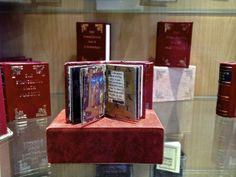 A miniature illuminated manuscript Illuminated Manuscript, Luxury Travel, A Boutique, Miniatures, Minis